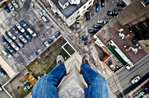 Acrophobia fear and heights
